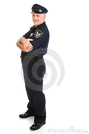 Polizeibeamte-Auslegung-Element