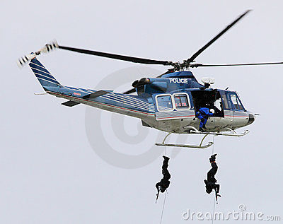 Polizeigruppe. Redaktionelles Stockfoto