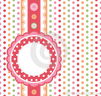 Free Polka Dot Background Stock Image - 15367061