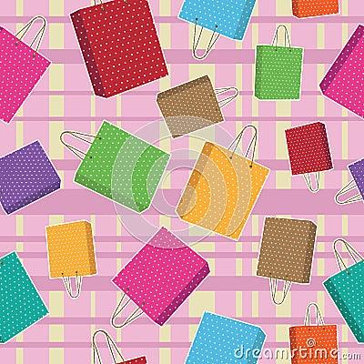 Polka dot bags pattern