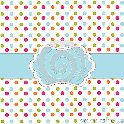 Free Polka Dot Design Royalty Free Stock Photo - 15116005