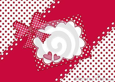Polka dot gift card