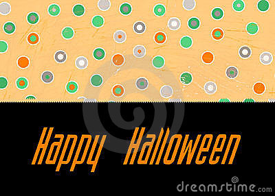 Polka Dot Happy Halloween