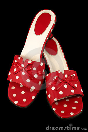 Polka-dot Shoes 1