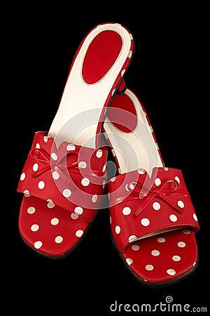Polka-dot Shoes 1