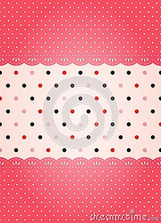 Polka dot texture