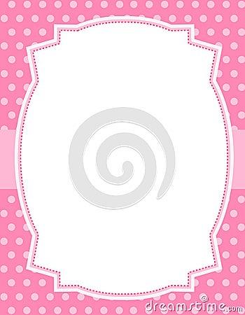 Polka för designprickram