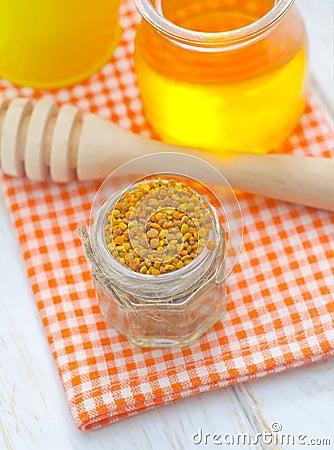 Pollen i miód