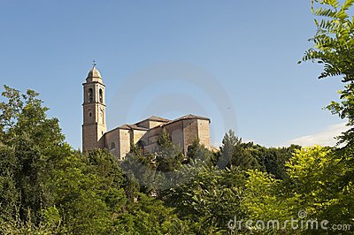 Pollenza (Macerata, Marches, Italy) - Old church
