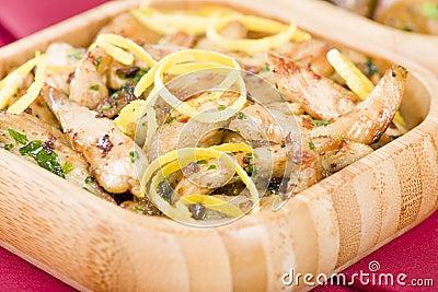 Pollo al limon przeciwu ajo
