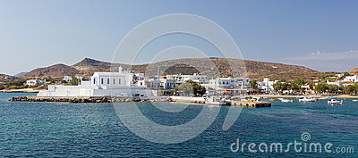 Pollonia village, Milos island, Cyclades, Greece