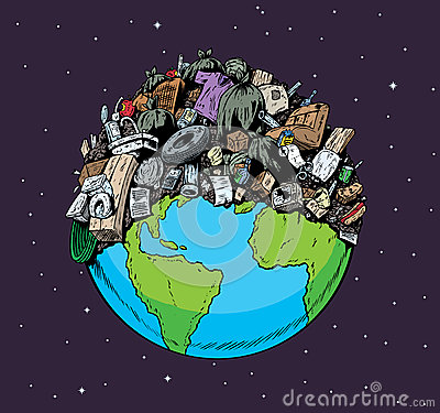 Polluted Planet Stock Photo - Image: 31885280
