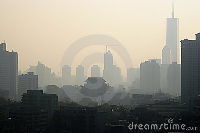 Pollution atmosphérique en Chine