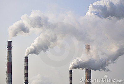 Pollution,Chimney Smoke