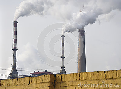 Pollution ,Chimney Smoke