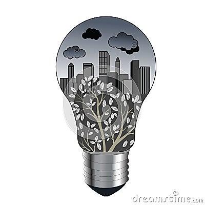 Pollution concept