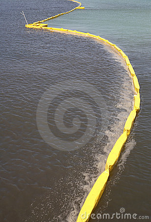 Free Pollution Control Barrier Royalty Free Stock Photos - 745868