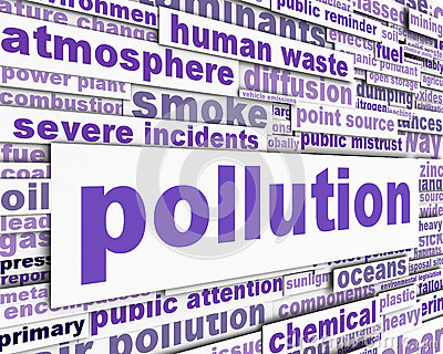 Pollution message conceptual design