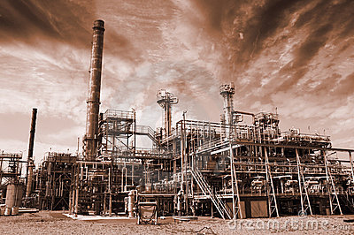 Pollution, refinery and fuel