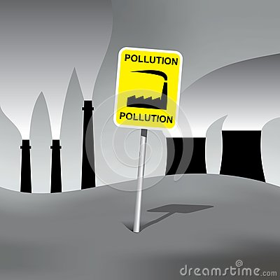Pollution sign