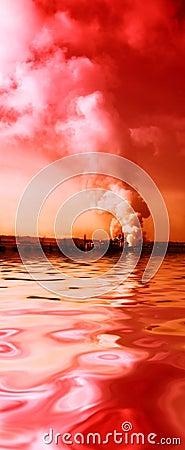 Free Pollution Smoke Royalty Free Stock Photo - 4322315