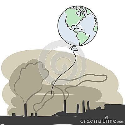 Pollution vector
