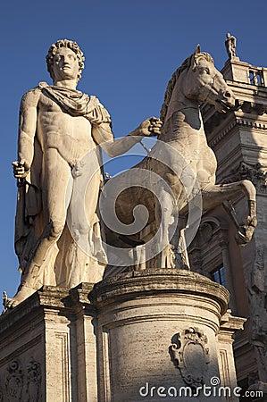 Pollux Statue Rome Italy