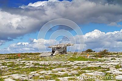 Polnabrone Dolmen in Burren