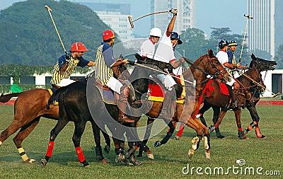 Polo Game of Kolkata-India Editorial Photography