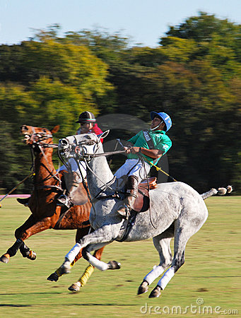 Polo on the Midway Editorial Stock Photo