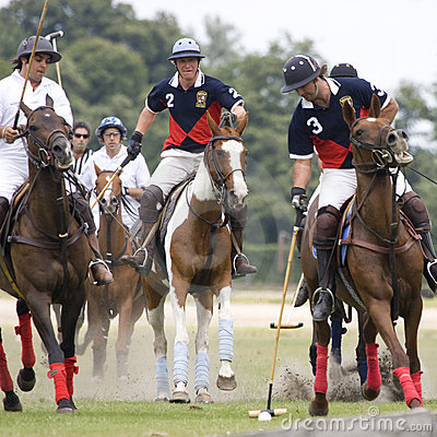 Polo Orange Cup 2008 Editorial Stock Photo