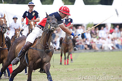 Polo Orange Cup 2008 Editorial Stock Image