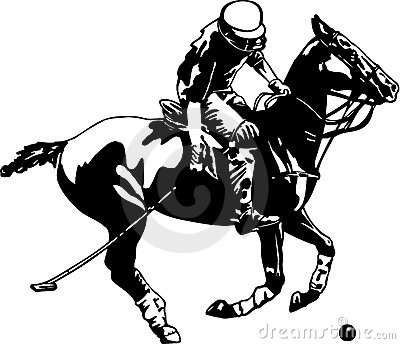 Polo Player And Horse Stock Photography Image 20258572