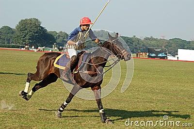 Polo playing in Kolkata-India Editorial Photography