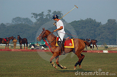 Polo playing in Kolkata-India Editorial Image