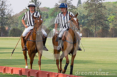 Polo referee at tournament in Brazil  Editorial Photography