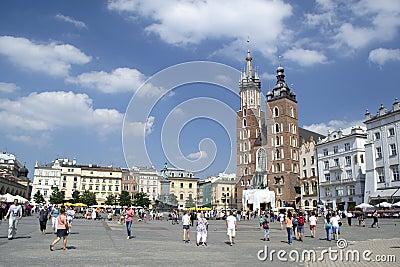 Polsk arkitektur Redaktionell Arkivbild
