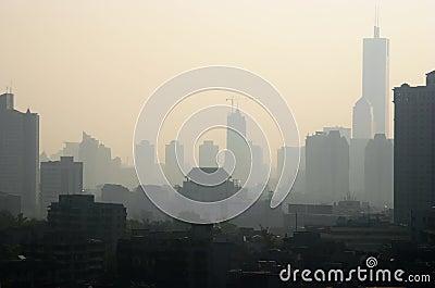 Poluição do ar em China
