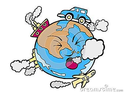 Poluição global