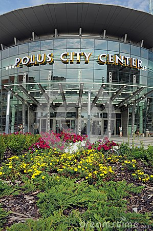 Polus City Center Editorial Photo