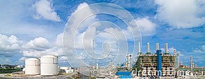 Polyethylene refinery plant