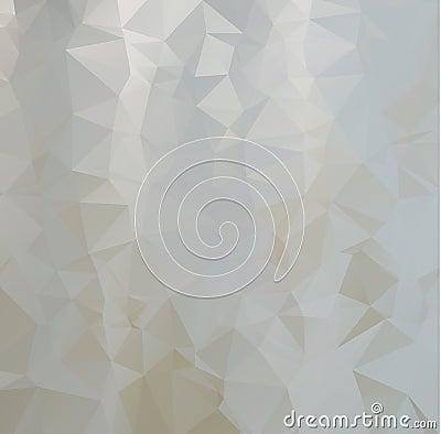 Polygonal Background, White gray background. Creative Design Templates. Polygonal Background, retro stlye and vintage tone. Creati Vector Illustration