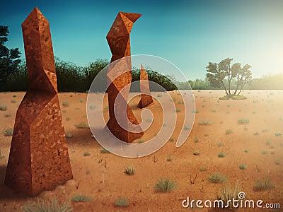 Polygonal Termitaria