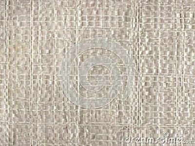 Polypropylene sack texture