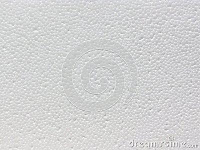 Polystyrene foam flat surface texture