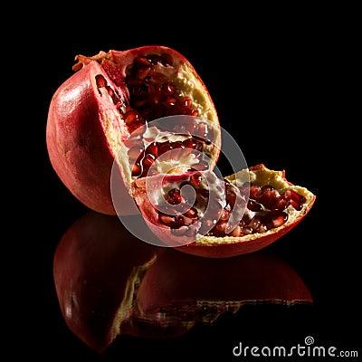 Free Pomegranate Royalty Free Stock Image - 16929746