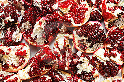 Pomegranate background