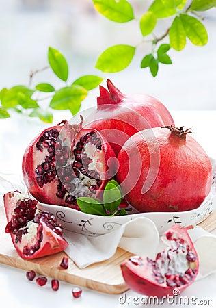 Free Pomegranates Stock Image - 21237751