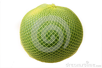 Pomelo in yellow net