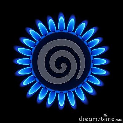 Płomienia naturalny benzynowy